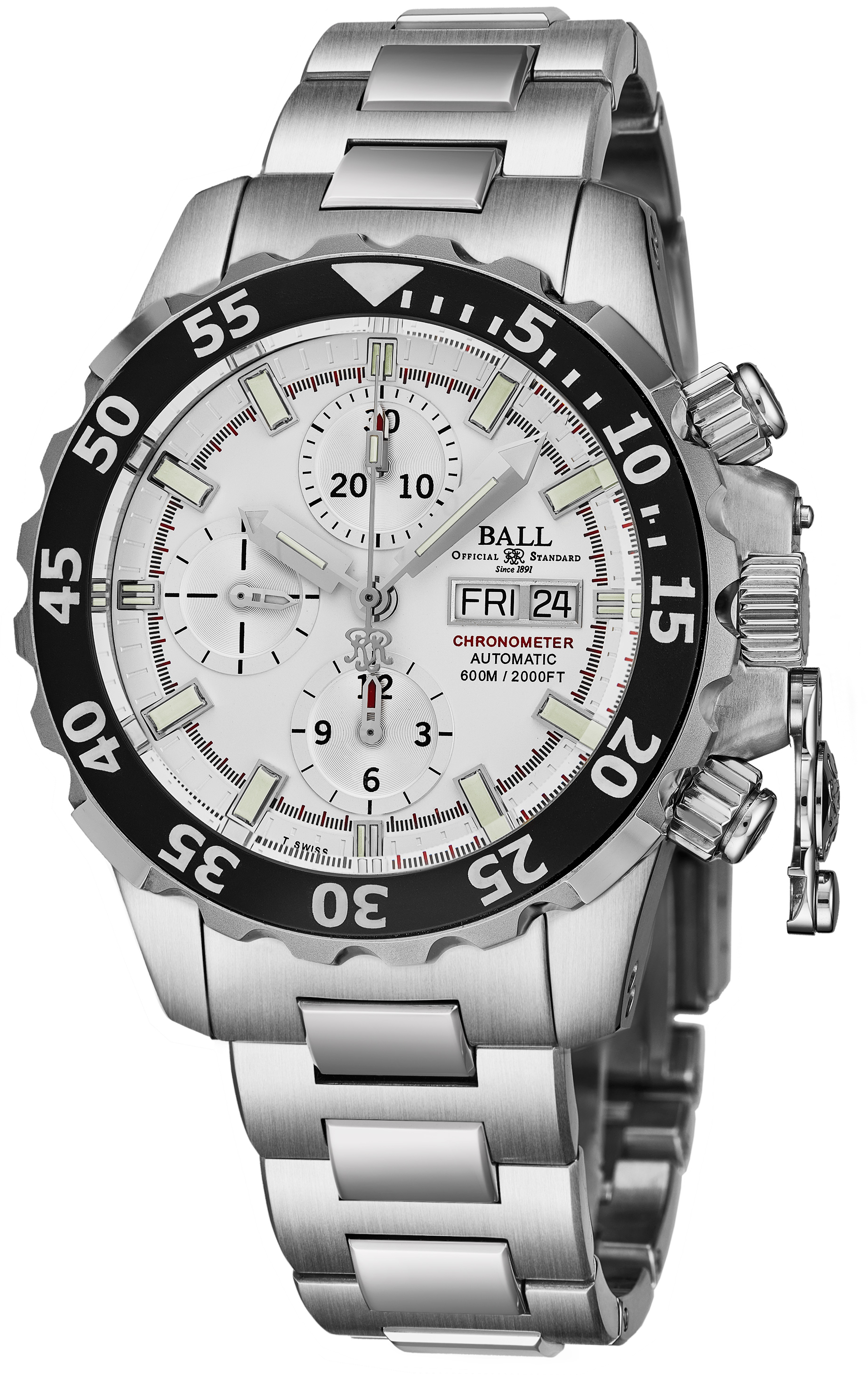 Ball Engineer Hydrocarbon Men's Watch Model DC3026A-SC-WH