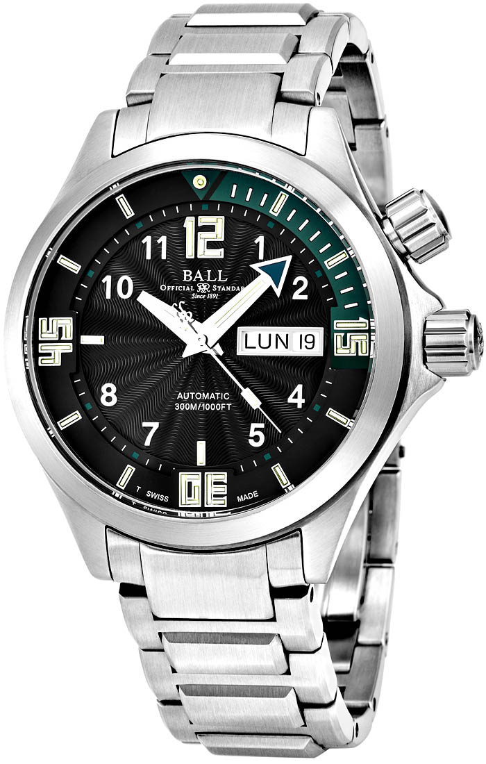 Ball Engineer Men's Watch Model DM2020A-SA-BKGR Thumbnail 2