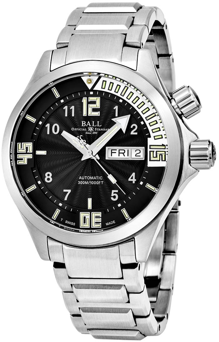 Ball Engineer Men's Watch Model DM2020A-SA-BKWH Thumbnail 2