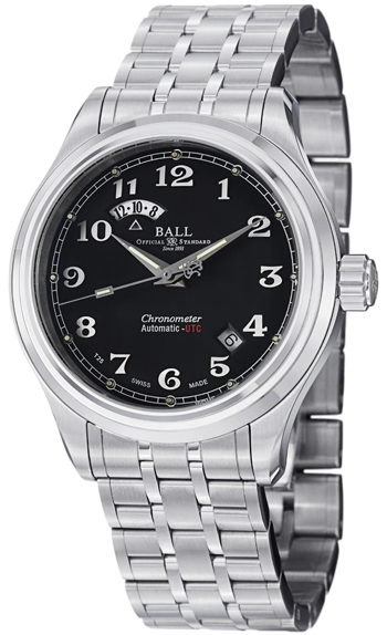 Ball Trainmaster Men's Watch Model GM1020D-SCJ-BK