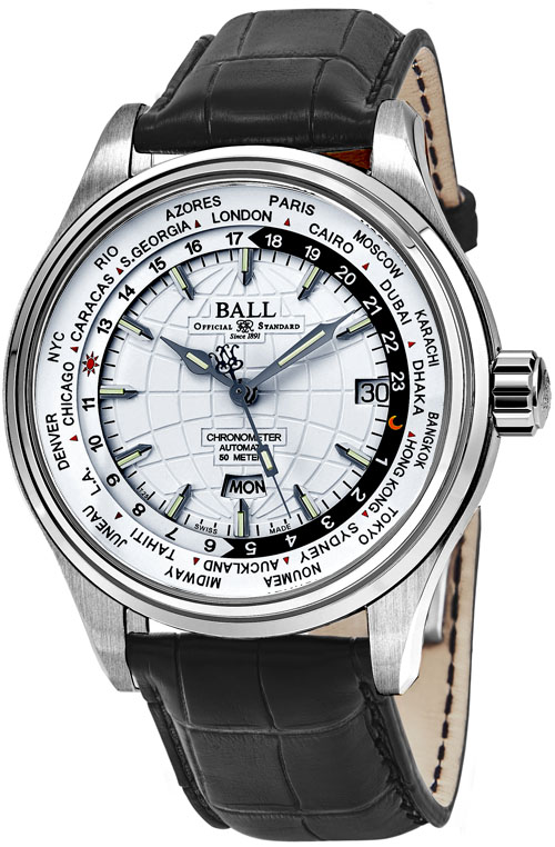 Ball Trainmaster Men's Watch Model GM2020D-LCJ-WH Thumbnail 2
