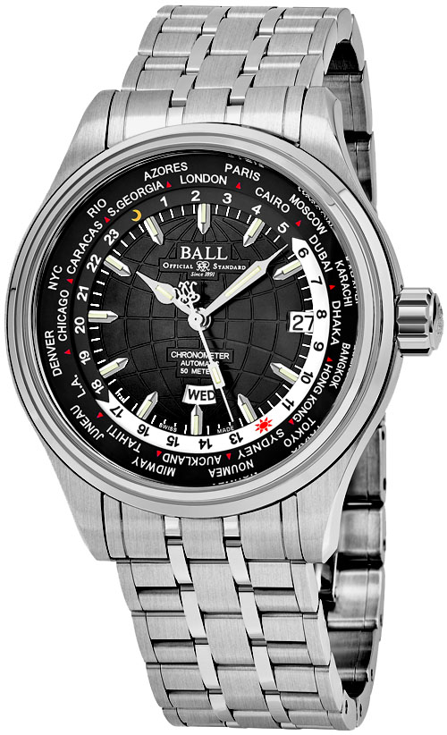 Ball Trainmaster Men's Watch Model GM2020D-SCJ-BK Thumbnail 2