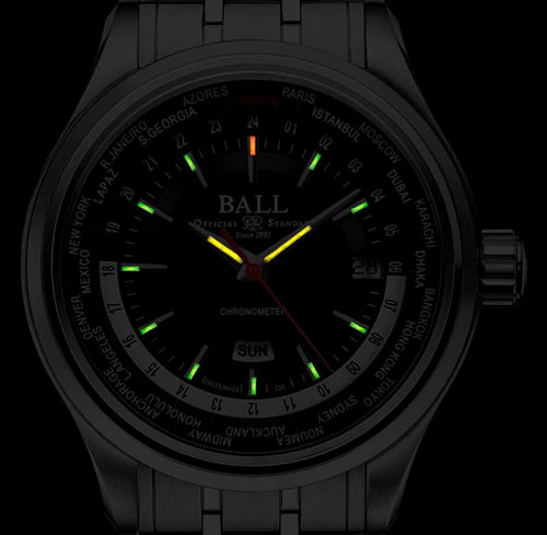Ball Trainmaster Men's Watch Model GM2020D-SCJ-BK Thumbnail 3