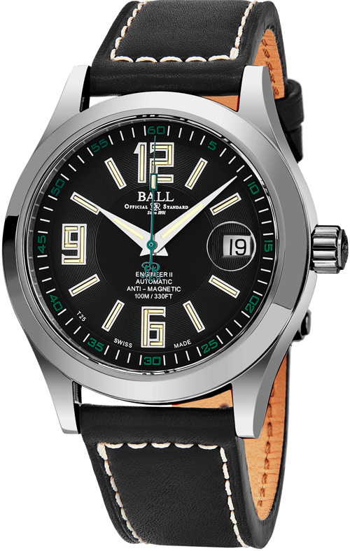 Ball Engineer Men's Watch Model NM1020C-L4-BK Thumbnail 2