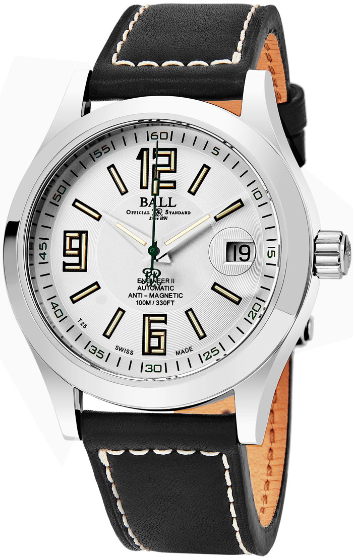 Ball Engineer Men's Watch Model NM1020C-L4-WH Thumbnail 2