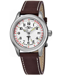 Ball Trainmaster Men's Watch Model NM1038D-L2CJ-WH