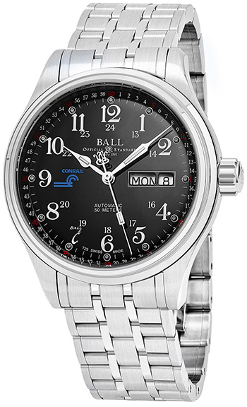 Ball Trainmaster Men's Watch Model NM1058D-S10J-BK