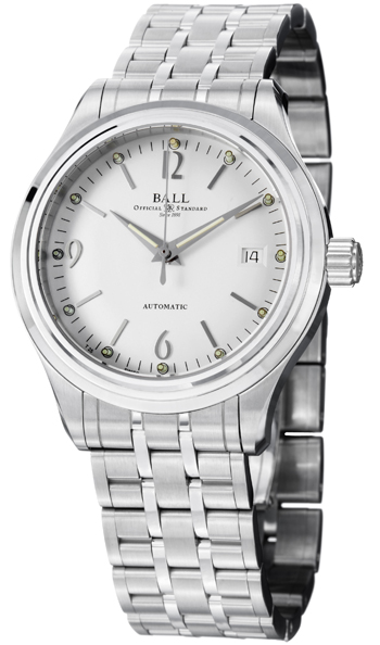 Ball Trainmaster Men's Watch Model NM1060D-SJ-WH