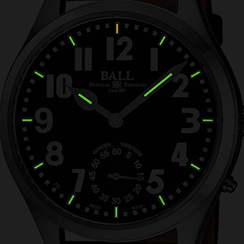 Ball Engineer Master II Men's Watch Model NM2038D-L1-BKWH Thumbnail 4