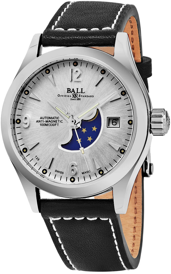 Ball Ohio Men's Watch Model NM2082C-LJ-SL Thumbnail 3