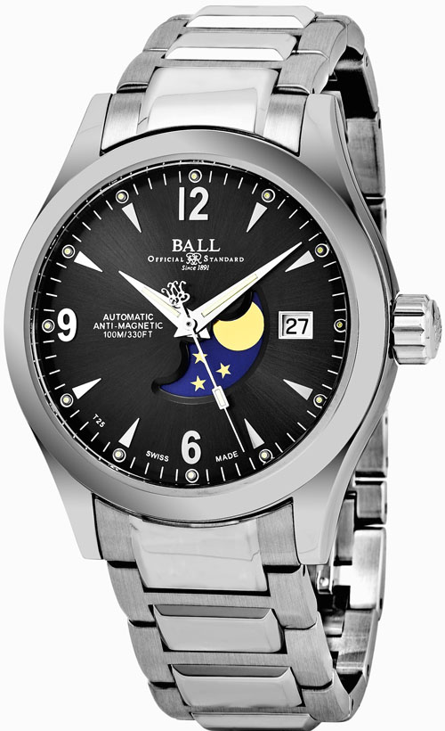 Ball Ohio Men's Watch Model NM2082C-SJ-BK Thumbnail 2