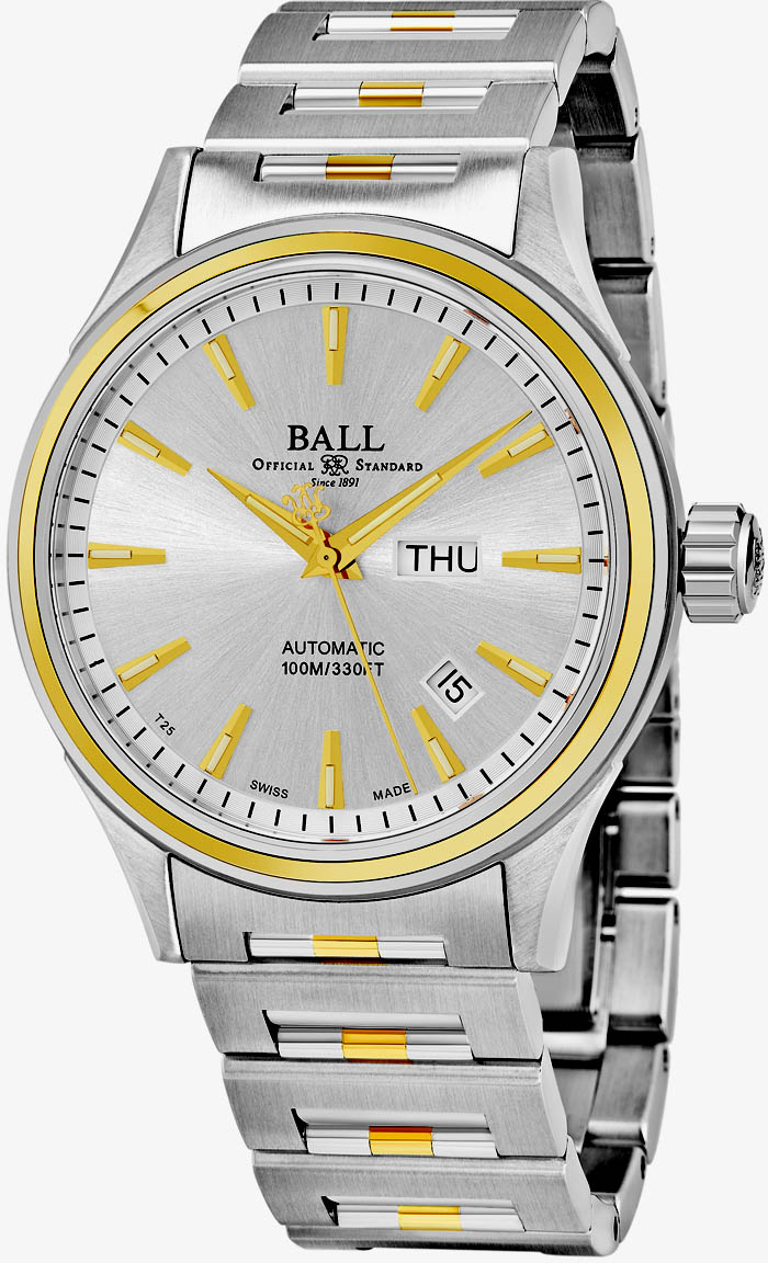 Ball Fireman Men's Watch Model NM2110C-2T-SJ-S Thumbnail 2