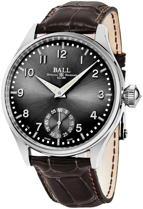 Ball Trainmaster Men's Watch Model NM3038D-LJ-GY Thumbnail 2