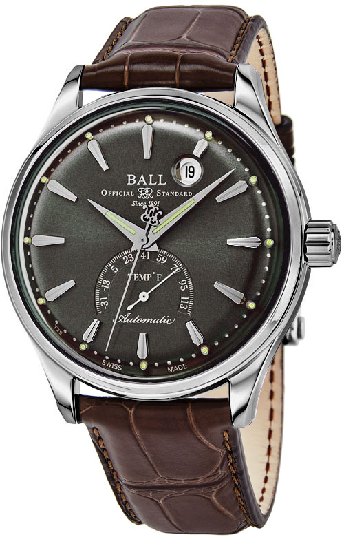 Ball Trainmaster Men's Watch Model NT3888D-LL1J-GY Thumbnail 2