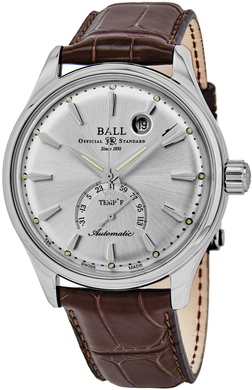 Ball Trainmaster Men's Watch Model NT3888D-LL1J-SL Thumbnail 2