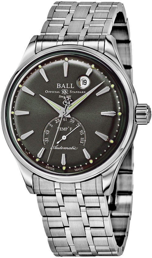 Ball Trainmaster Men's Watch Model NT3888D-S1J-GYF Thumbnail 2