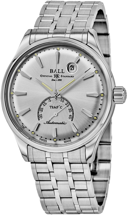 Ball Trainmaster Men's Watch Model NT3888D-S1J-SLC Thumbnail 2