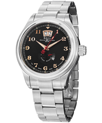 Ball Trainmaster Cleveland Mens Watch Model PM1058D-SJ-BK1