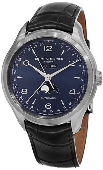 Baume & Mercier Clifton Calendar and Moonphase Men's Watch Model 10057