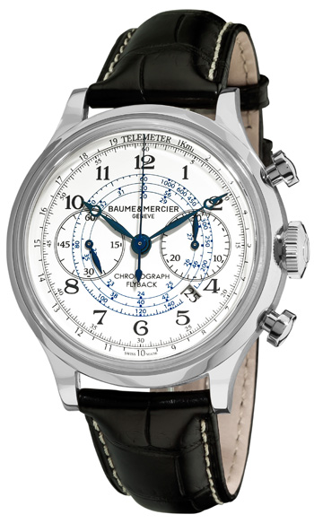 Baume & Mercier Capeland Flyback Chronograph Mens Wristwatch Model: M0A10006