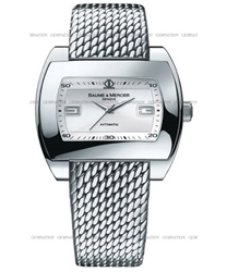 Baume & Mercier Hampton Mens Watch Model MOA08340