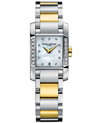 Baume & Mercier Diamant Ladies Watch Model MOA08599