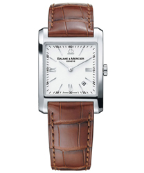 Baume & Mercier Hampton Square Mens Watch Model MOA08677