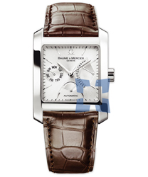 Baume & Mercier Hampton Square Men's Watch Model MOA08757