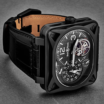 Bell & Ross Minuteur Men's Watch Model BR-MNUTTOURB-CA Thumbnail 3