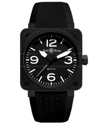 Bell & Ross Aviation Men's Watch Model BR01-92-CARBON