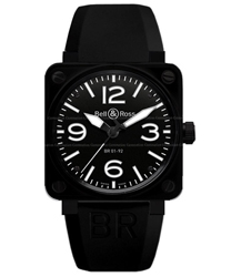 Bell & Ross Aviation Men's Watch Model: BR01-92-CERAMIC