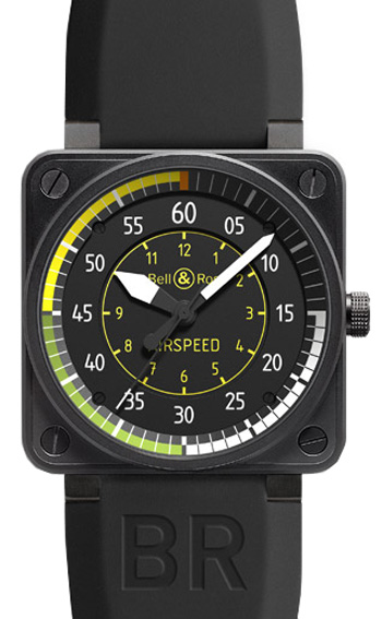 Bell & Ross Aviation Men's Watch Model BR01-92AIRSPEED