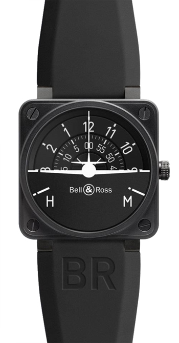 Bell & Ross Avation Men's Watch Model BR01-92TURNCOOR