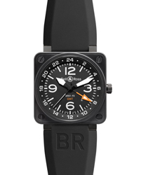 Bell & Ross BR01 Men's Watch Model: BR01-93GMT