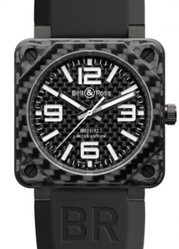 Bell & Ross BR01 Men's Watch Model BR01-94-BD-Carbonfibre
