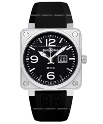 Bell & Ross Aviation Men's Watch Model BR01-96-GD