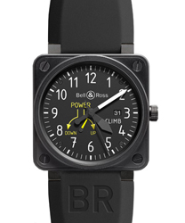 Bell & Ross Avation Men's Watch Model BR01-97CLIMB