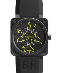 Bell & Ross Avation Men's Watch Model BR01-97HEADING