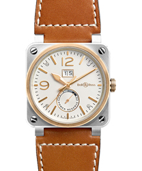 Bell & Ross Aviation Men's Watch Model BR03-90-BICOLOR