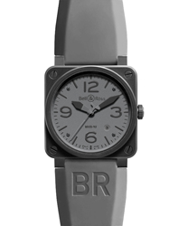 Bell & Ross Aviation Men's Watch Model BR03-92-COMMANDO