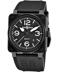 Bell & Ross Aviation Men's Watch Model BR03-92CARBON