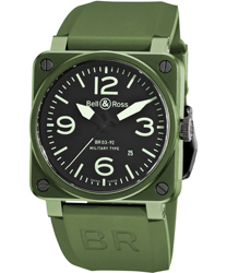 Bell & Ross Aviation Men's Watch Model BR03-92MLTRYCRM