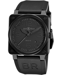 Bell & Ross Aviation Men's Watch Model BR03-92PHANTOM