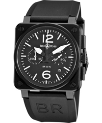 Bell & Ross Aviation Men's Watch Model BR03-94CARBON