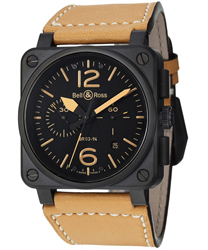 Bell & Ross Aviation Men's Watch Model BR03-94HERITAGE