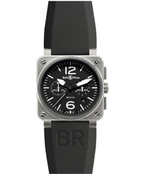 Bell & Ross Aviation Men's Watch Model BR03-94STEEL