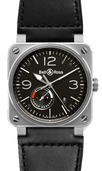 Bell & Ross Aviation Unisex Watch Model BR03-97-POWER-RESERVE