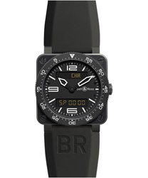 Bell & Ross Aviation Men's Watch Model BR03-TYPECARBON
