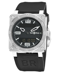 Bell & Ross Aviation Men's Watch Model BR03-TYPESTEEL