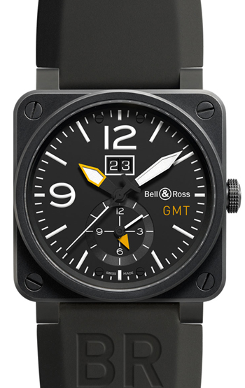 Bell & Ross Aviation Men's Watch Model BR0351-GMT-CA Thumbnail 2